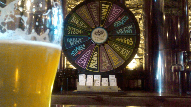 Antares' Wheel Of Beer